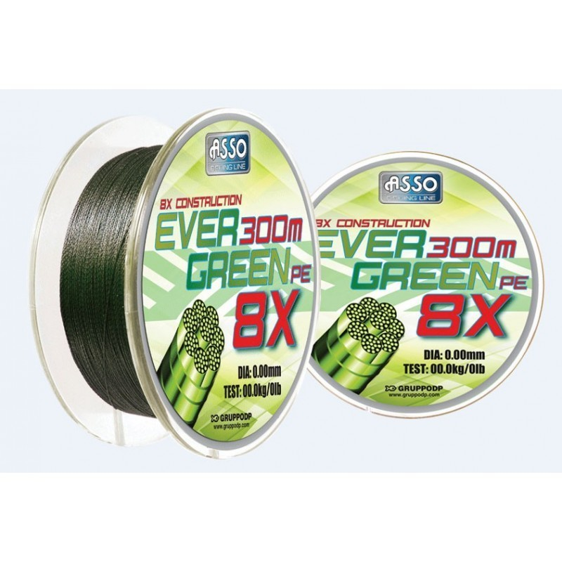 EVER GREEN 1000MT BRAID 036