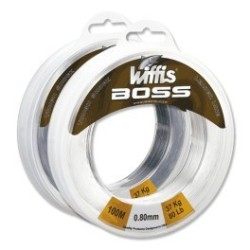 BOBINA OWNER WIFFIS BOSS 100MT 37KG/80LBS BO-80 0.80MM