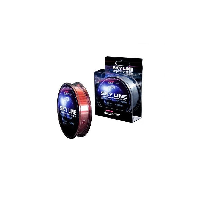 HILO CINNETIC SKY LINE 2000MTS - 0.16  RED