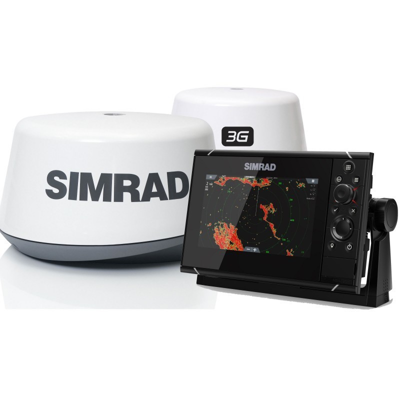 Pack Radar Simrad 3G + Sonda GPS Plotter Simrad NSS7 evo3