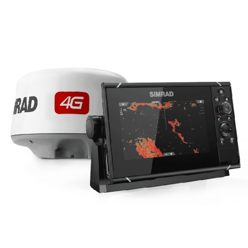 Pack Radar Simrad 4G + Sonda GPS Plotter Simrad NSS7 evo3