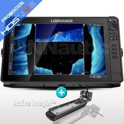 Sonda GPS Plotter LOWRANCE HDS-16 LIVE + Active Imaging 3 in 1 popa