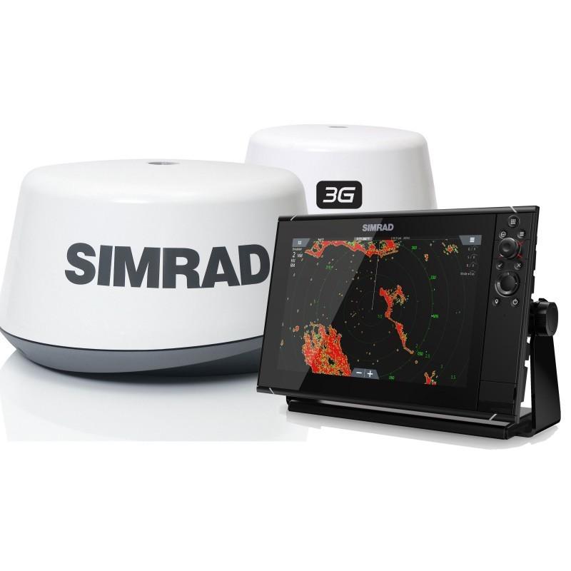 Pack Radar Simrad 3G + Sonda GPS Plotter Simrad NSS12 evo3