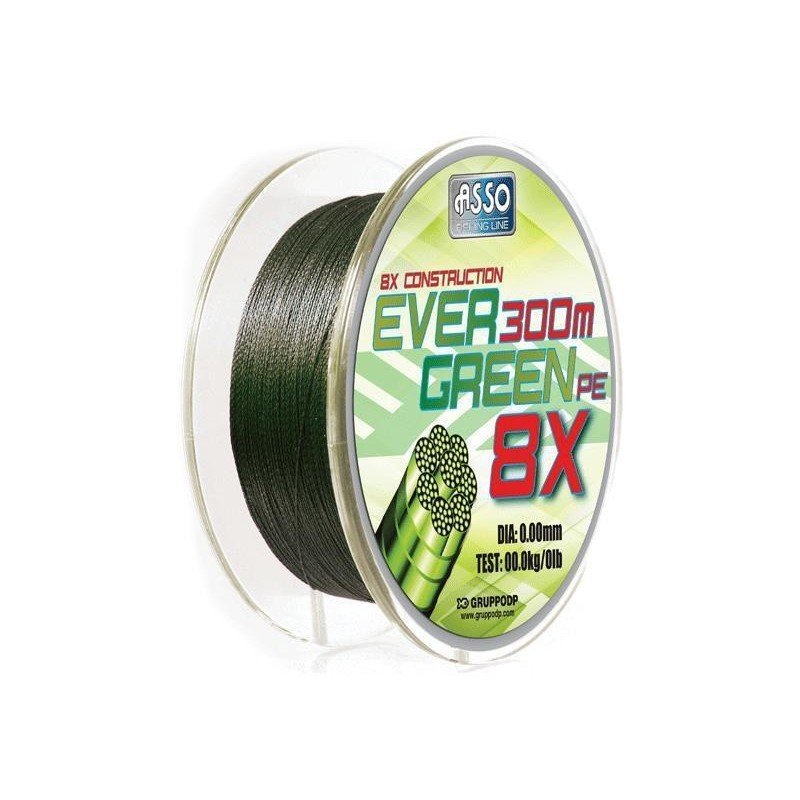 EVER GREEN 300MT BRAID