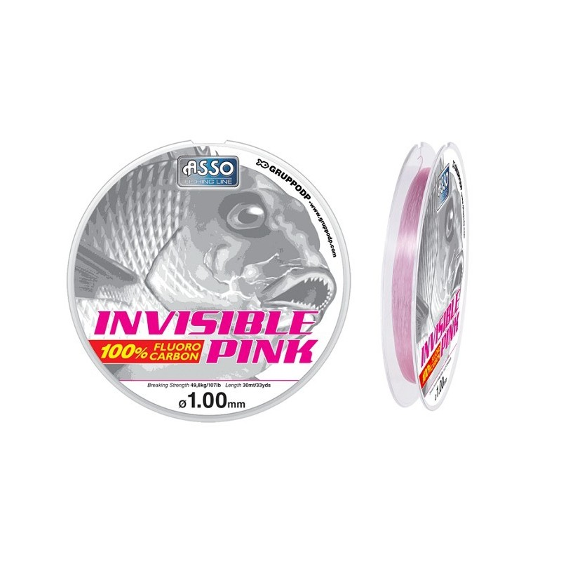 ASSO INVISIBLE PINK 30MT